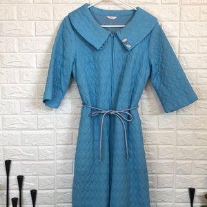 Vintage 60's Sears quilted jumpsuit onesie